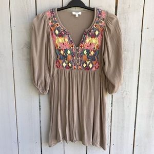 Umgee Bohemian Embroidered Tunic